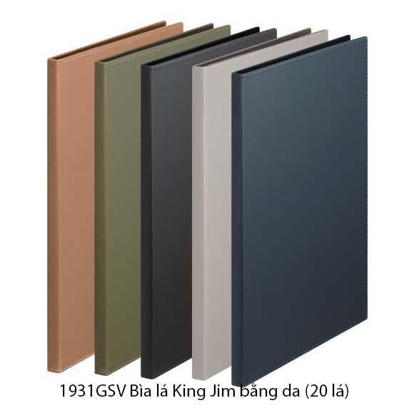 Bìa lá King Jim bằng da (20 lá) 1931GSV